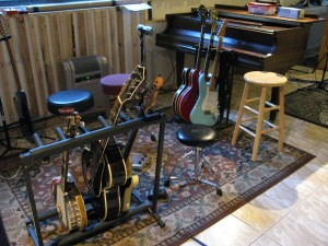 Brad's gear and the Hamilton baby grand